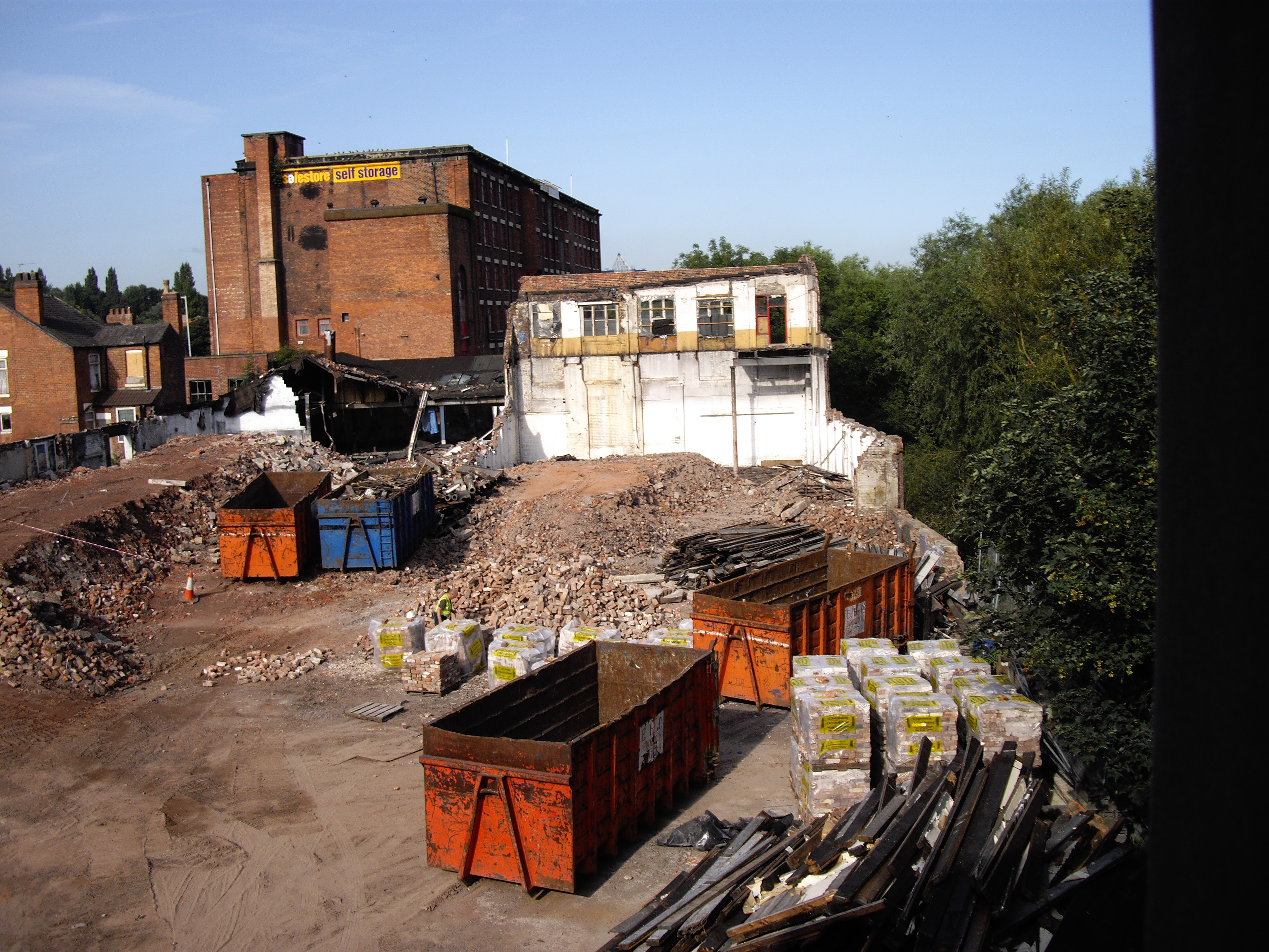 chestergate demolition site